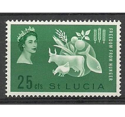 Znaczek Saint Lucia 1963 Mi 168 Czyste **