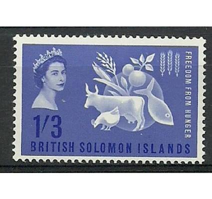 Znaczek Wyspy Salomona 1963 Mi 101 Czyste **