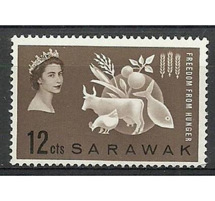 Znaczek Malezja 1963 Mi Sarawak 203 Czyste **