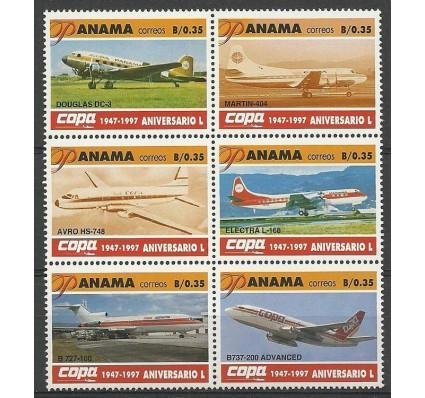 Znaczek Panama 1997 Mi 1800-1805 Czyste **