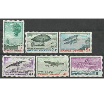Znaczek Gabon 1973 Mi 501-506a Czyste **