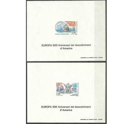 Znaczek Andora Francuska 1992 Mi lx 437-438B Czyste **