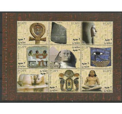 Znaczek Egipt 2004 Mi h-blatt2178-2186 Czyste **