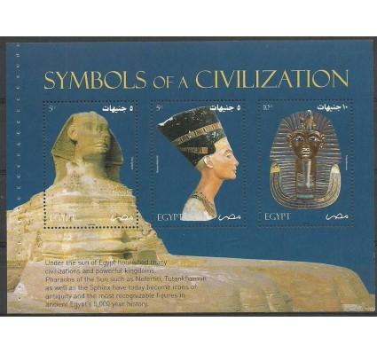 Znaczek Egipt 2004 Mi h-blatt2187-2189 Czyste **