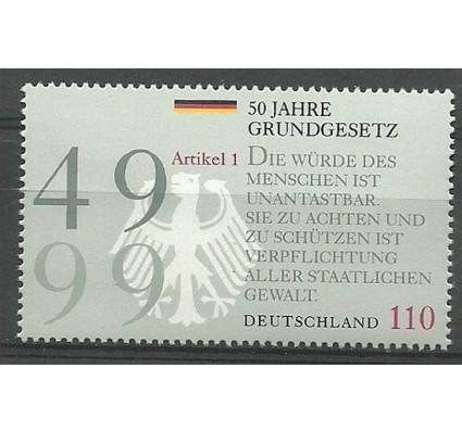 Znaczek Niemcy 1999 Mi 2050 Czyste **
