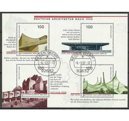 Znaczek Niemcy 1997 Mi bl 37 Stemplowane