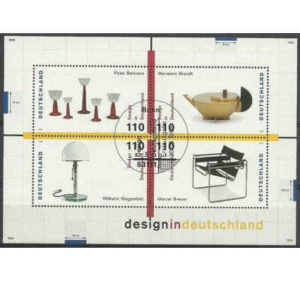 Znaczek Niemcy 1998 Mi bl 45 Stemplowane