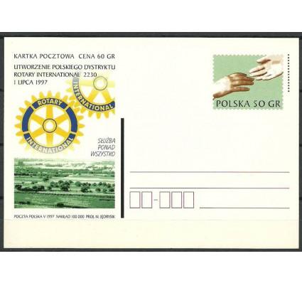 Znaczek Polska 1997 Fi 1147 Całostka pocztowa