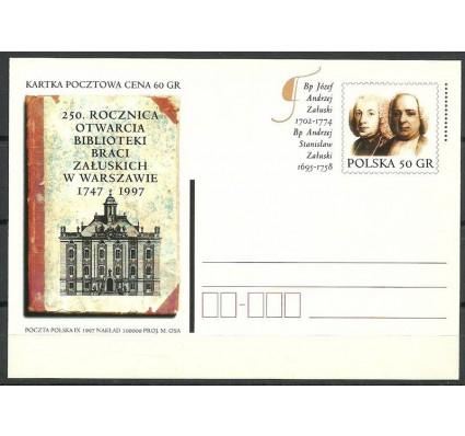 Znaczek Polska 1997 Fi 1160 Całostka pocztowa
