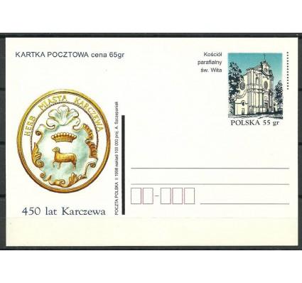 Znaczek Polska 1998 Fi 1168 Całostka pocztowa