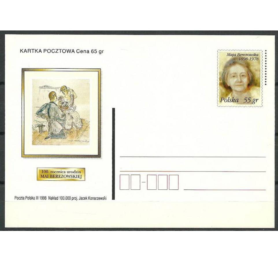 Polska 1998 Fi 1171 Całostka pocztowa