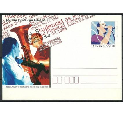 Znaczek Polska 1998 Fi 1172 Całostka pocztowa