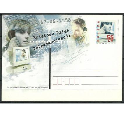 Znaczek Polska 1998 Fi 1174 Całostka pocztowa