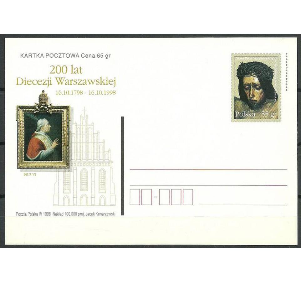 Polska 1998 Fi 1175 Całostka pocztowa
