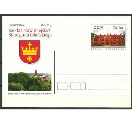 Znaczek Polska 1998 Fi 1177 Całostka pocztowa