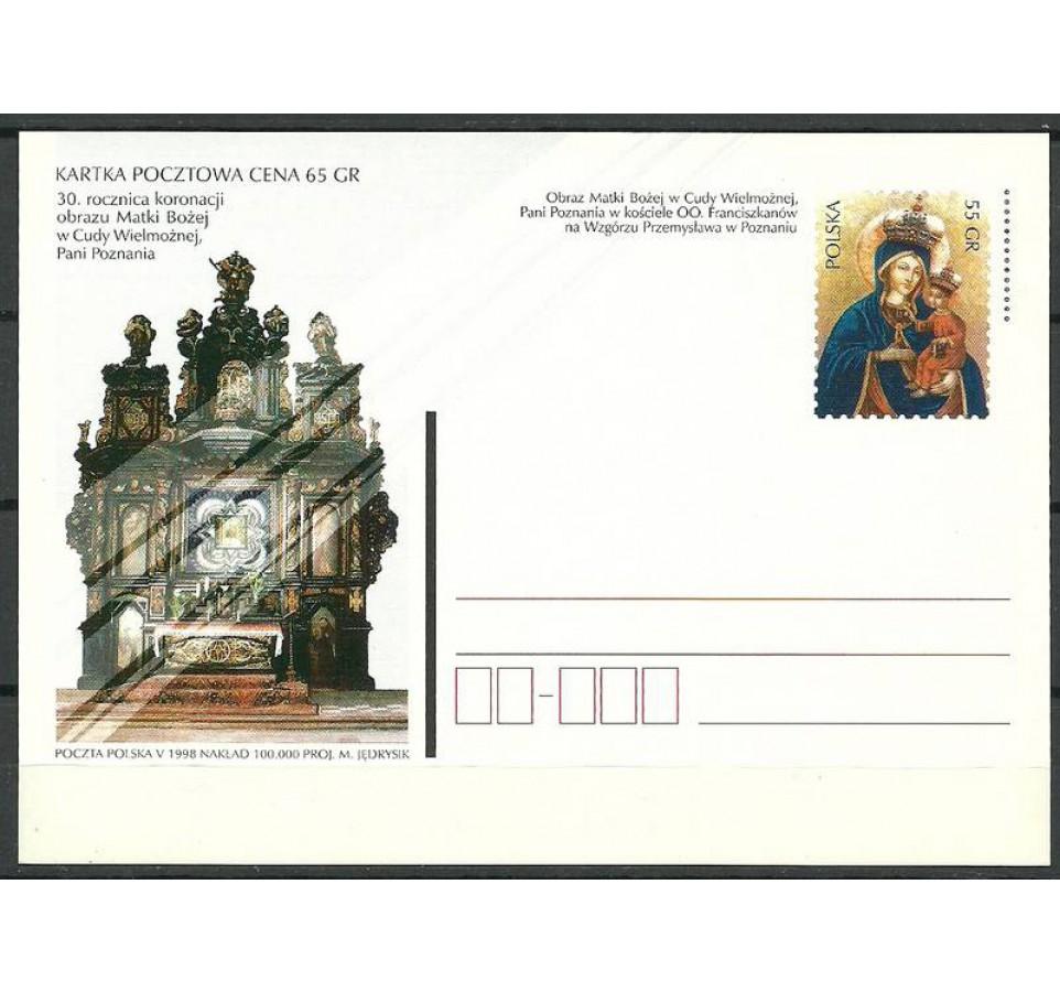 Polska 1998 Fi 1182 Całostka pocztowa