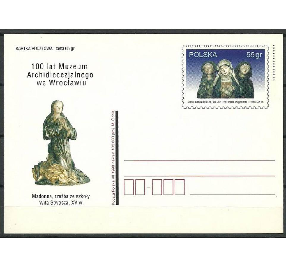 Polska 1998 Fi 1184 Całostka pocztowa