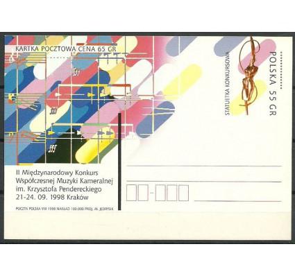 Znaczek Polska 1998 Fi 1185 Całostka pocztowa