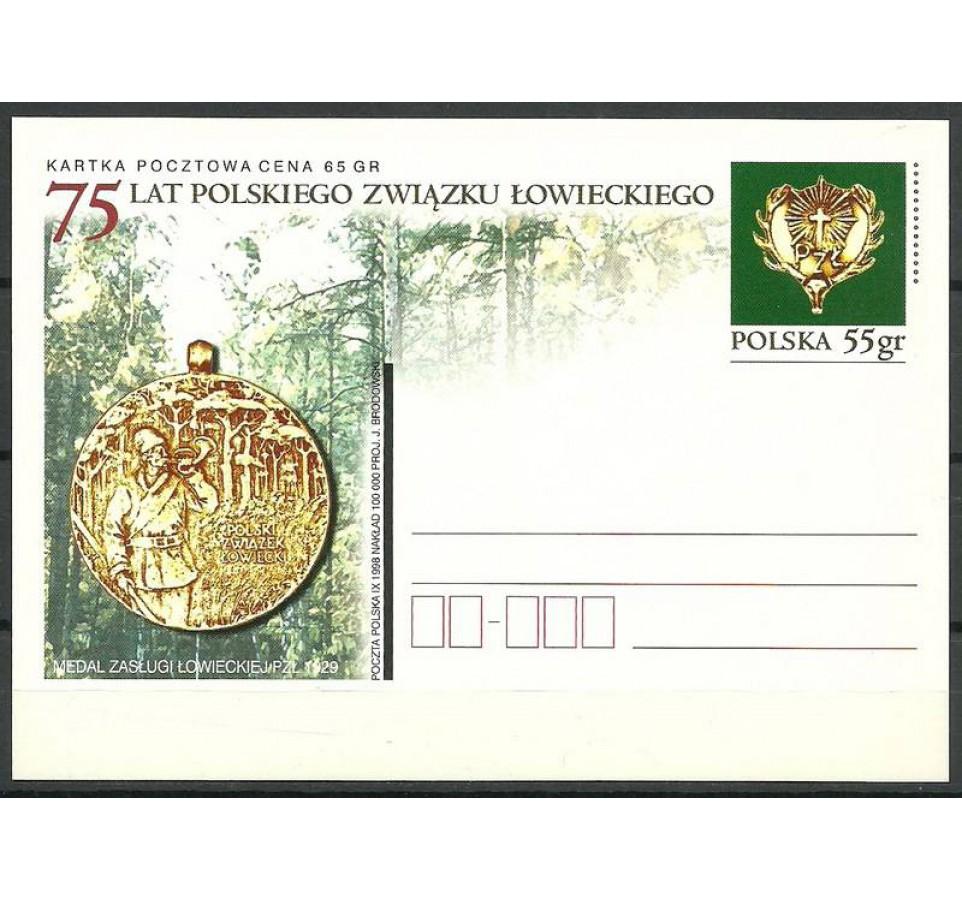 Polska 1998 Fi 1189 Całostka pocztowa