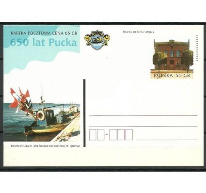 Znaczek Polska 1998 Fi 1190 Całostka pocztowa