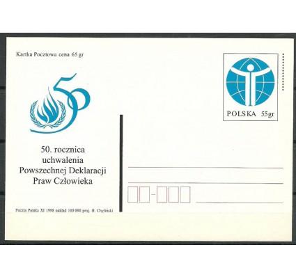 Znaczek Polska 1998 Fi 1193 Całostka pocztowa