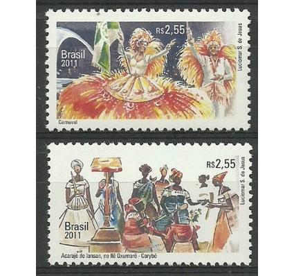 Znaczek Brazylia 2011 Mi 3958-3959 Czyste **