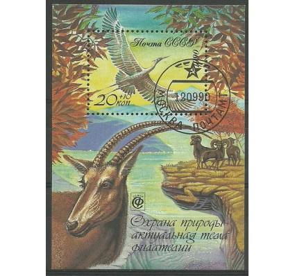 Znaczek ZSRR 1990 Mi bl 215 Stemplowane