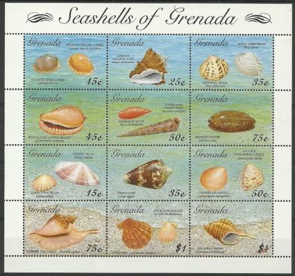 Znaczek Grenada 1993 Mi ark 2596-2607 Czyste **