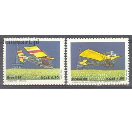 Brazylia 1989 Mi 2310-2311 Czyste **