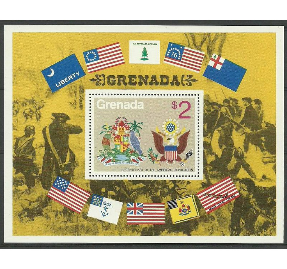 Grenada 1975 Mi bl 42 Czyste **
