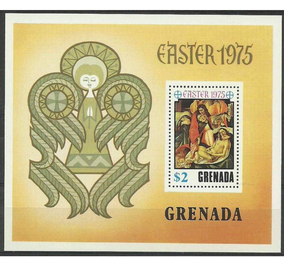 Grenada 1975 Mi bl 44 Czyste **