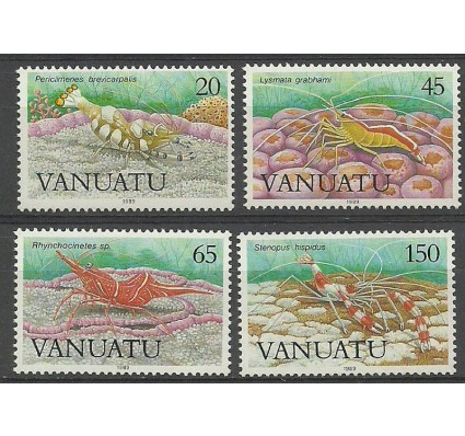 Znaczek Vanuatu 1989 Mi 810-813 Czyste **