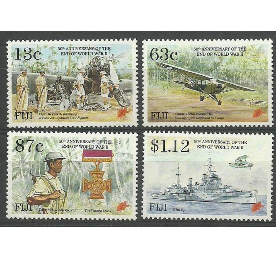 Fidżi 1995 Mi 726-729 Czyste **