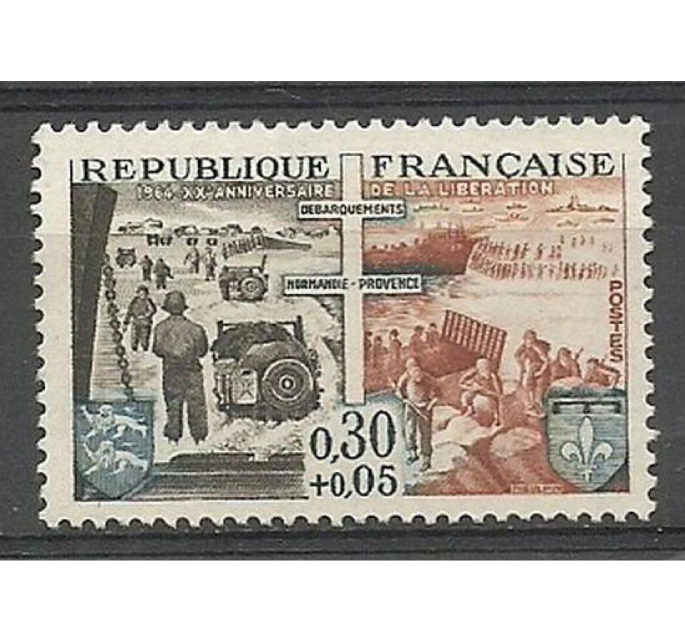 Francja 1964 Mi 1481 Czyste **