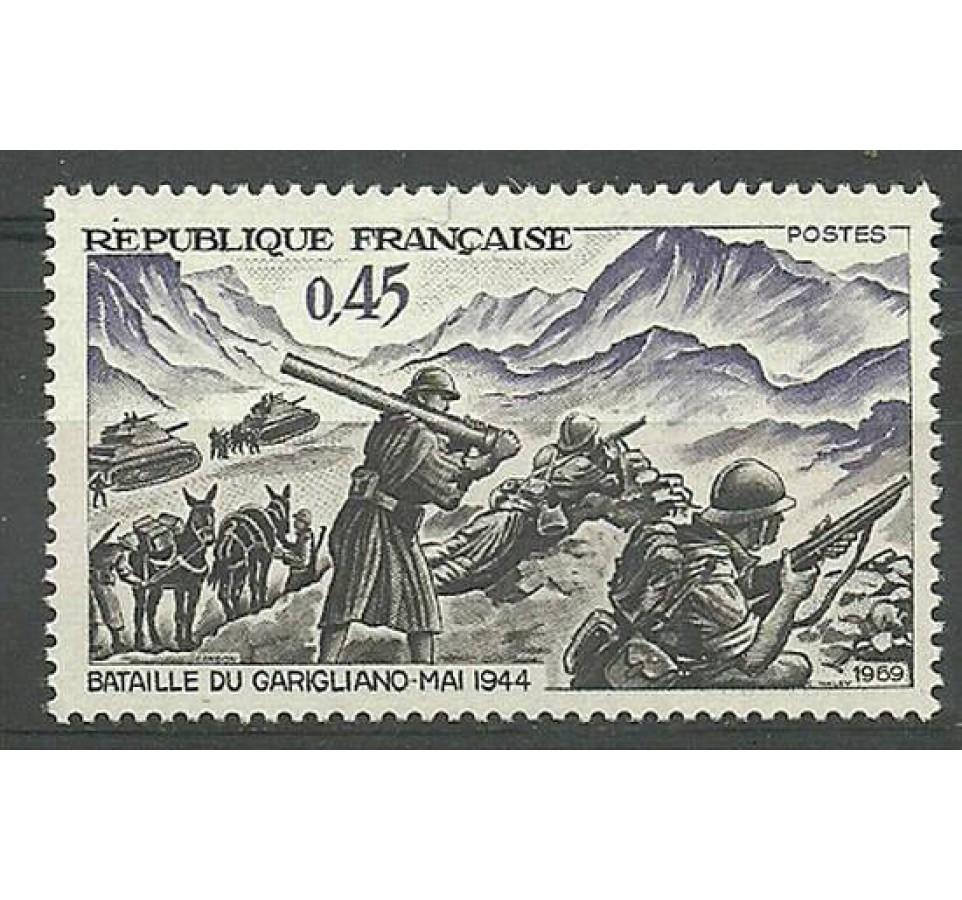 Francja 1969 Mi 1668 Czyste **