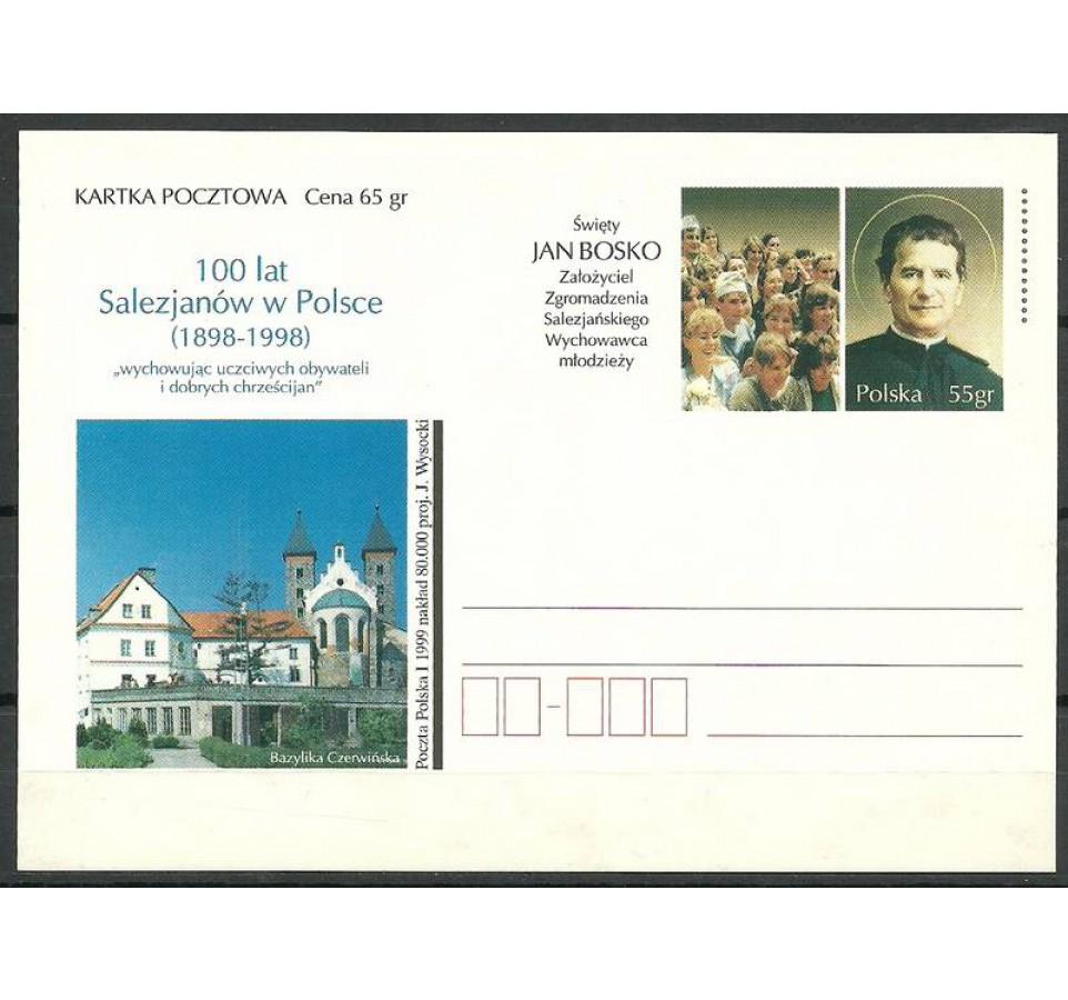 Polska 1999 Fi 1197 Całostka pocztowa