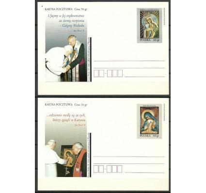 Znaczek Polska 1999 Fi 1202-1203 Całostka pocztowa