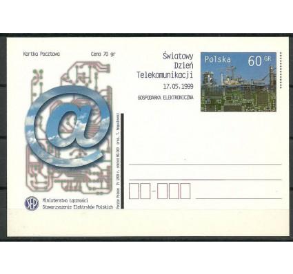 Znaczek Polska 1999 Fi 1205 Całostka pocztowa