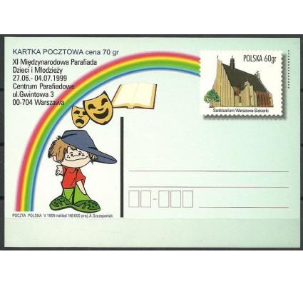 Znaczek Polska 1999 Fi 1206 Całostka pocztowa