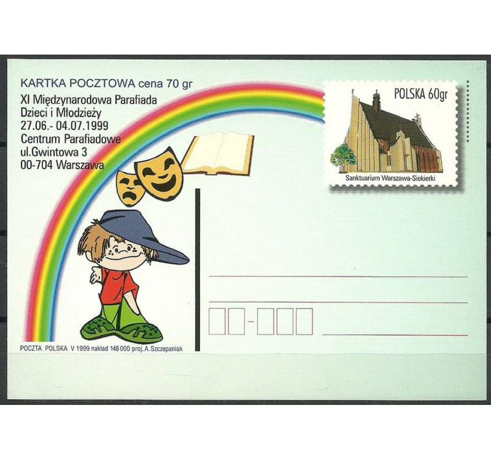 Polska 1999 Fi 1206 Całostka pocztowa