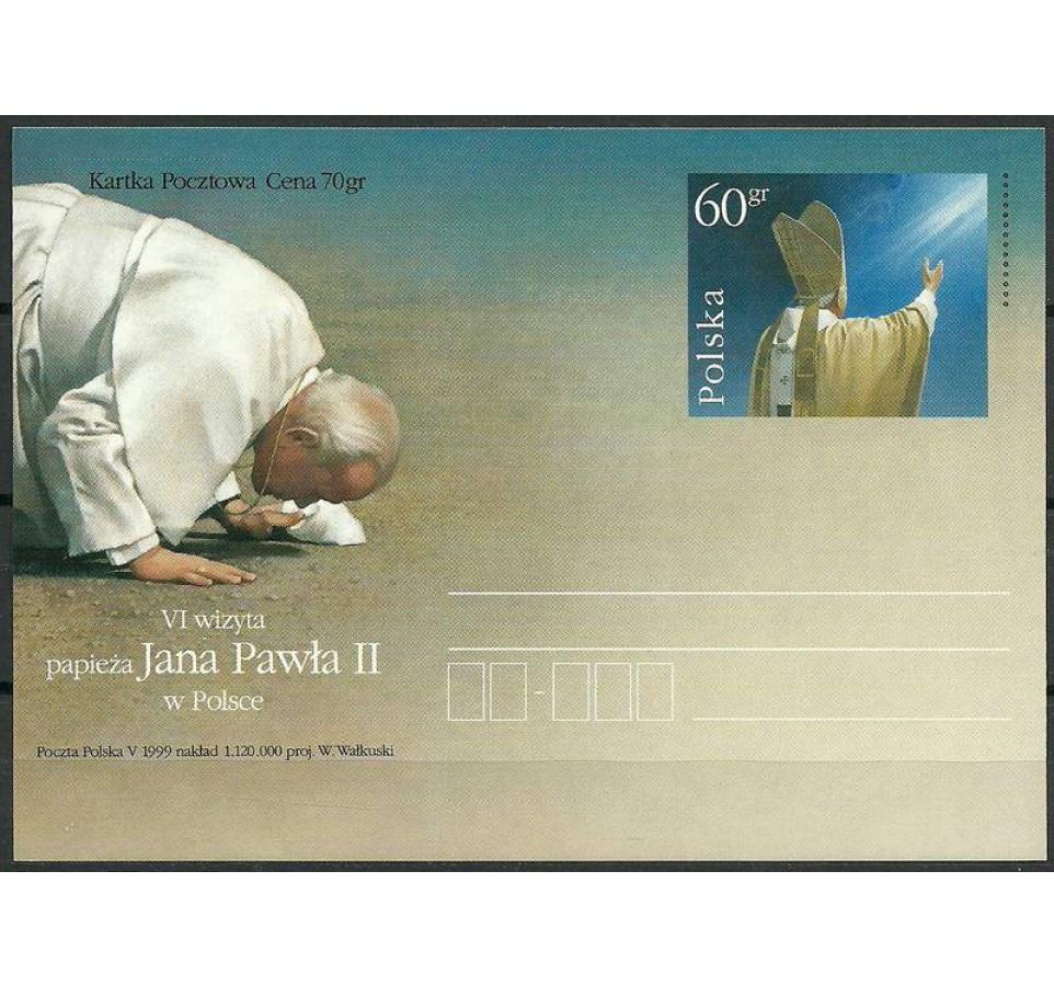 Polska 1999 Fi 1208 Całostka pocztowa