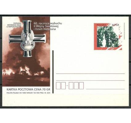 Znaczek Polska 1999 Fi 1215 Całostka pocztowa