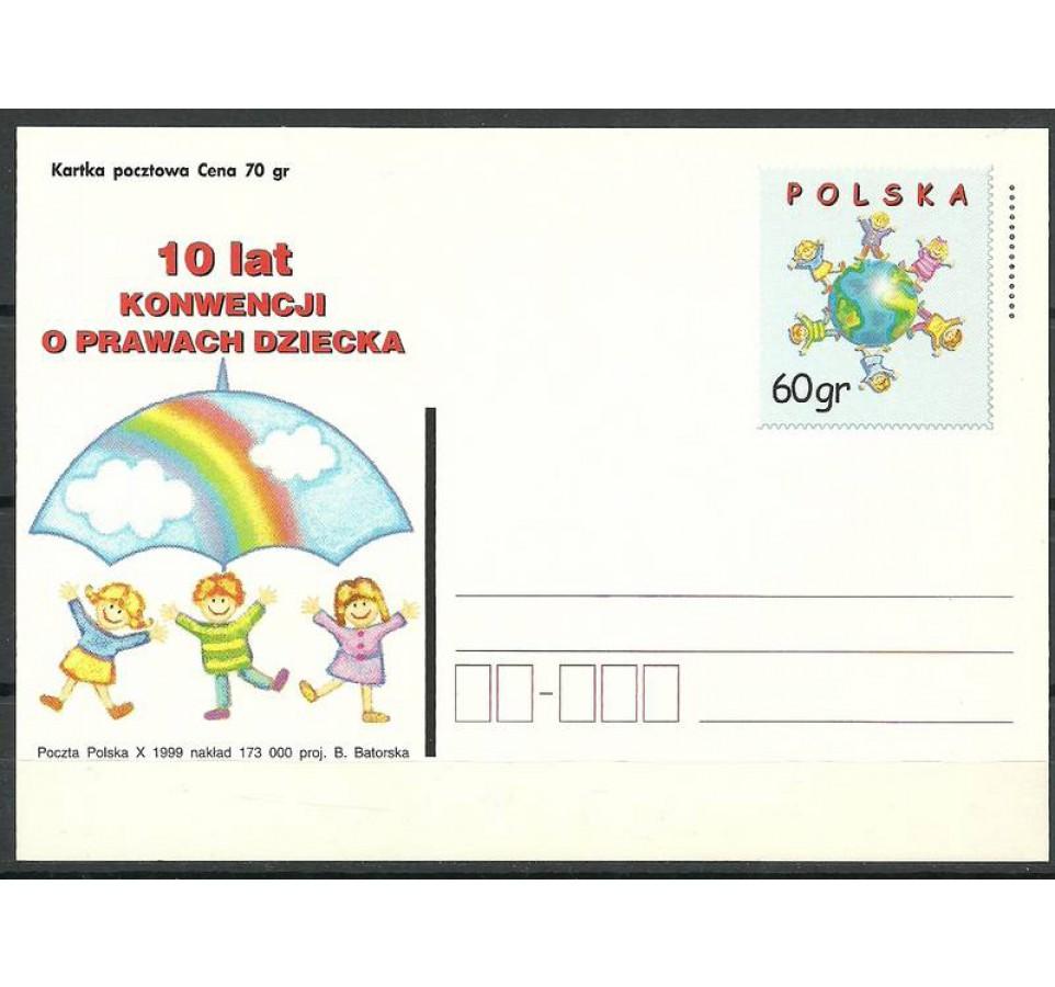 Polska 1999 Fi 1223 Całostka pocztowa