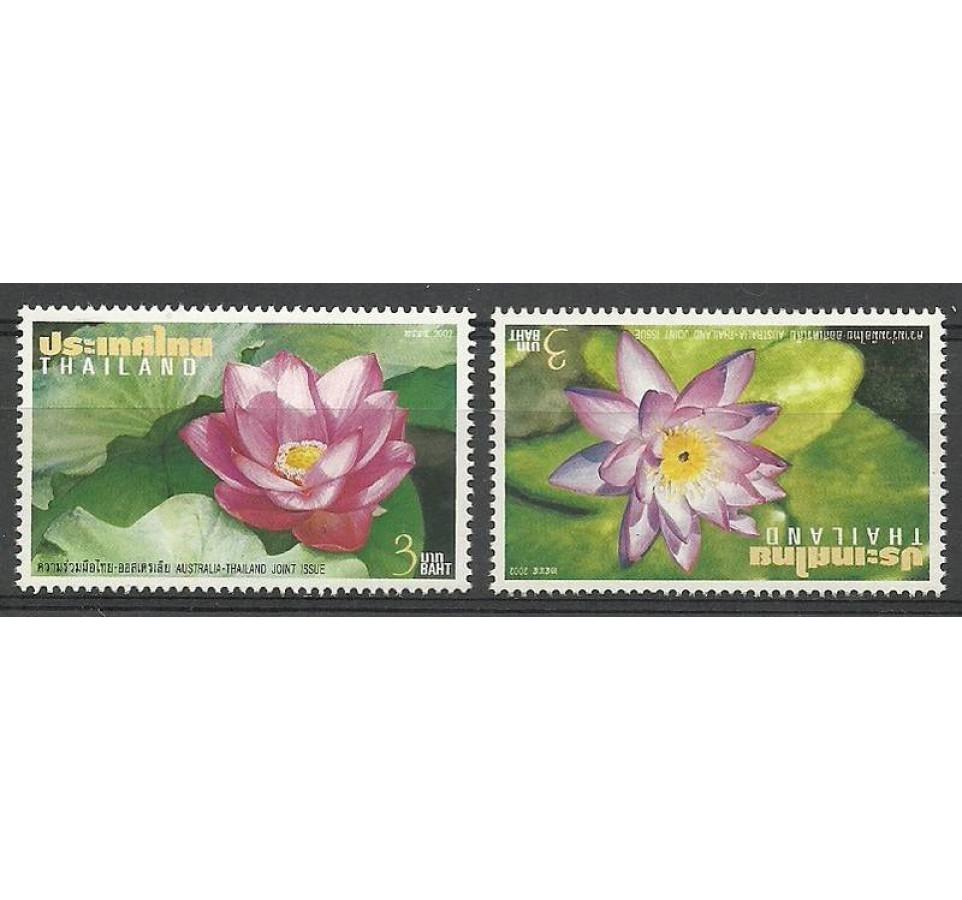 Tajlandia 2002 Mi 2138-2139 Czyste **