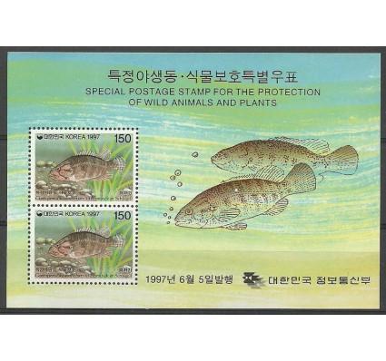 Znaczek Korea Południowa 1997 Mi bl 640 Czyste **