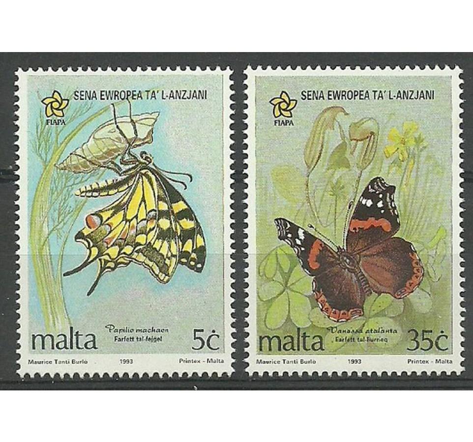 Malta 1993 Mi 914-915 Czyste **