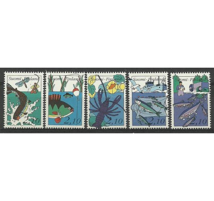 Znaczek Finlandia 1991 Mi 1134-1138 Czyste **