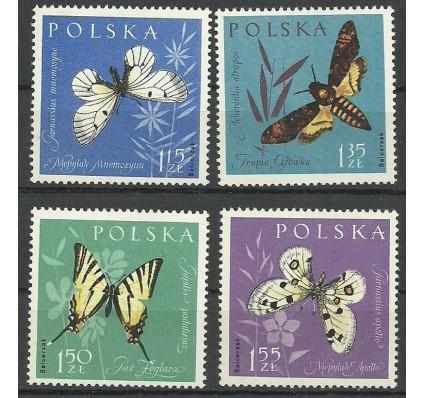 Znaczek Polska 1961 Mi 1283-1286 Fi 1138-1141 Czyste **