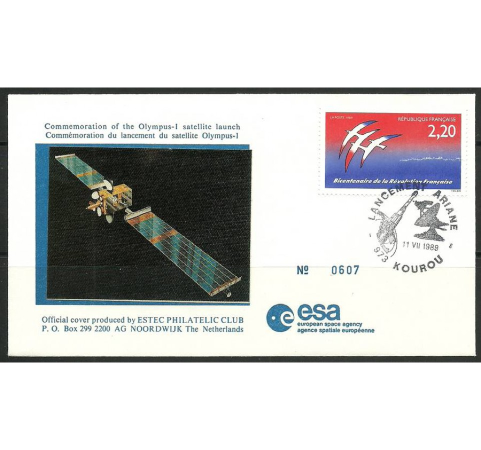 Francja 1989 Mi 2696 FDC