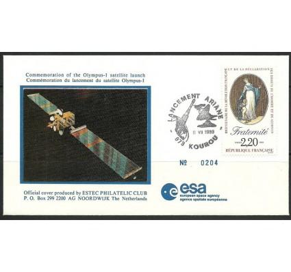 Znaczek Francja 1989 Mi 2720 FDC